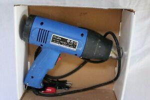1500W Heat Gun Hot Air Wind Blower Dual Temperature Power Heater Used
