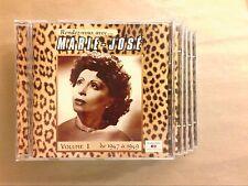 LOT 5 CD / INTEGRALE MARIE JOSE / RENDEZ VOUS AVEC... / RARE / TRES BON ETAT