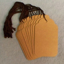 "50 Kraft Merchandise All Purpose Price Tags - 1 3/4"" X 2 7/8"""