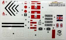 Panzer Challenger 1:16 Heng Long  Aufkleber Set  Decals Top Qualität