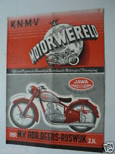 DMW 1949-11,FN 350CC,SPEEDWHEEL,MOSQUITO,TRIUMPH GP RACER,JAWA COVER,FOTODIENST