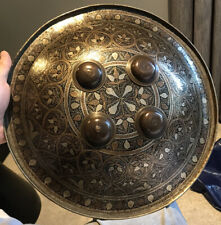 More details for 19th century indian dhal shield / buckler