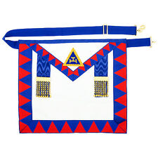 New Masonic Regalia Lambskin Leather Holy Royal Arch Provincial Apron RA Chapter