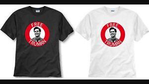 T-Shirt Maglia Maglietta FREE TRUMAN The Truman Show Film 90 Jim Carrey