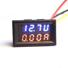 Doble Led Dc Digital Amperímetro Voltímetro Lcd Panel Amp Voltímetro 10a 30v Voltímetro