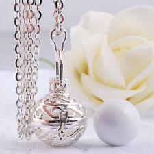 bébé harmonie carillon bola médaillon bijoux collier chaîne pendentif en argent