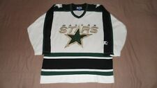 Vintage Dallas Stars White Starter Men's Size XL NHL Hockey Jersey