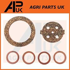 Massey Ferguson TE20 TED TVO Tractor Bowl Type Fuel Tap Gasket Repair Kit Cork