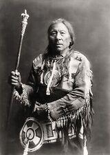 Edward S Curtis Nativo Indio correr Conejo Foto De Retrato Imagen de Impresión de Arte