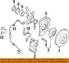 MITSUBISHI OEM 02-05 Lancer Front Brake-Disc Rotor MB699285