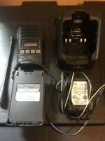 ICOM F-60 radio , with Rapid Charger, Antenna