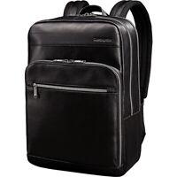 Samsonite Leather Slim Laptop Backpack 2 Colors Business & Laptop Backpack NEW