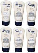 Aveeno Baby Soothing Relief Moisture Cream 5 Oz (Pack of 6)