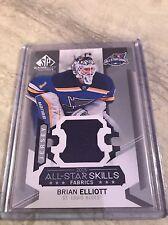 Brian Elliot Game Used 2015-16 All Star Skills Fabrics