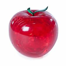 Crystal Puzzles Red Apple 3D Jigsaw