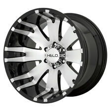 "Helo HE917 20x12 8x6.5"" -44mm Black/Machined Wheel Rim 20"" Inch"
