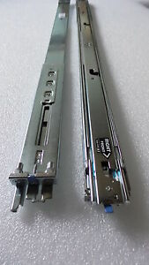 Dell PowerEdge R610 1U Sliding Rack Rapid Rails  P223J K839C TY301 Ball bearing
