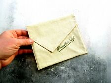Mid Century Leather Handkerchiefs Purse Wallet