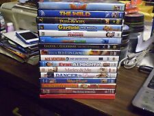 (18) Childrens Animal DVD Lot: Disney Valiant  The Wild  Garfield  Puss in Boots