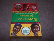 Who Was? ~ Set of 5 Heros of Black History