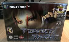 SEALED Perfect Dark (PAL, Nintendo 64)