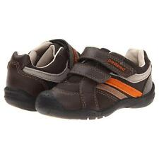 Pediped Grip N Go Flexible Chocolate Brown Shoes  Little Boys Size 4 - 4 1/2