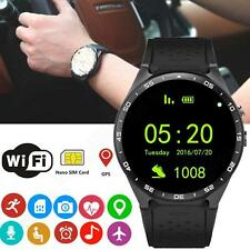 Wifi Bluetooth 4.0 Smart Wrist Watch SIM GPS Camera For Android Samsung iPhone