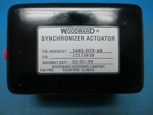 Woodward Synchronizer Actuator PN: 66503 ASSY 5485-020-AB NEW OLD STOCK (11028)