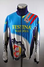 Sibille Festina Bike cycling jersey maglia maillot Rad Jacke jacket thermo XL