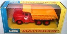 Lesney MATCHBOX Series K-19 KING SIZE Scammell Tipper Truck Original Model & Box