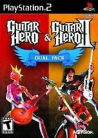Guitar Hero & Guitar Hero II Dual Pack - Playstation 2 Game Complete