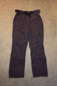 Woman's Misty Mountain light weight brown Nylon Pants/ Outdoor/ Camp Size Sm