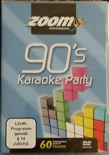 Zoom KARAOKE DVD 90s Party Karaoke DVD 2 DISCHI 60 tracce DVD