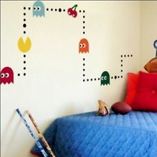 Cute Pac-Man Game Vinyl Wall Paper Decal Art Sticker Q193