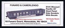 LMH Funaro F&C 6141 MP MISSOURI PACIFIC 45' Panel Side Steel Gondola MOPAC Lines