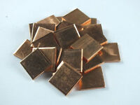 10pcs Laptop GPU CPU Heatsink Thermal Pad Copper Pad Copper Shim:15*15*1.5mm