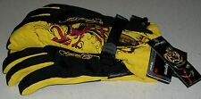 Ed Hardy Snow Gloves Ski Board Boogie Sled winter Germany German Xmas M L womens