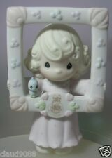 PRECIOUS MOMENTS YOU'RE AS PRETTY AS A PICTURE 1996 MEMBERSHIP 2 PIECES