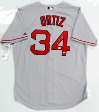 e7e7a1935da David Ortiz Signed Grey Boston Red Sox Jersey - JSA W   Fanatics  Authentications