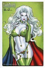 Lady Death Fantasies #1 NAUGHTY Emerald Edition Variant Richard Ortiz Cover /99