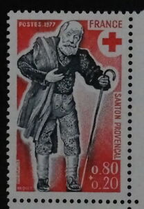 Timbre poste. France. n°1959. croix rouge