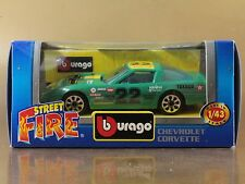 [PI3-36] BBURAGO BURAGO 1/43 STREET FIRE #4124 CHEVROLET CORVETTE n. 22 NIB