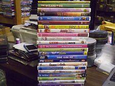(23) Childrens Girls DVD Lot: (11) Disney Mulan Annie Wizard of Oz  Barbie  MORE