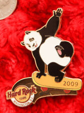 New listing Hard Rock Cafe Washington DC Pin PANDA BEAR Skateboard extreme sport hat lapel