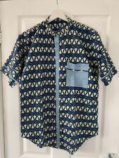 Mens Dashiki Shirt African Clothing Hippie Caftan Herit Vintage UK Size Large