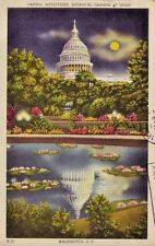 DC CAPITOL REFLECTIONS BOTANICAL GARDENS AT NIGHT hire handicapped cancel