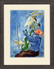 """Original 1938 Lithograph """"Printemps"""" by Marc Chagall, Verve (Volume 1, Number 3)"""