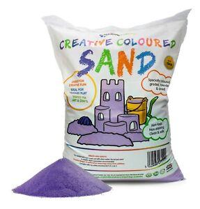 Eco Coloured Play Sand - High Quality Kids Sandpit Sand (8 colours) 5kg/15kg Bag