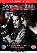 Sweeney Todd - The Demon Barber of Fleet Street [2 Disc] [DVD] [2007], Very Good