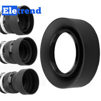 72mm Stage Rubber Lens Hood For Nikon Canon Sony Olympus Pentax Sigma